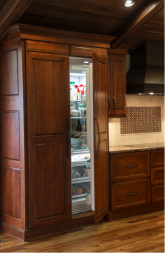 Remodeling allows for up-to-date and sleek features in your kitchen.